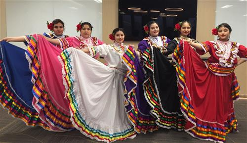 District 622 Latina dancers perform at state conference