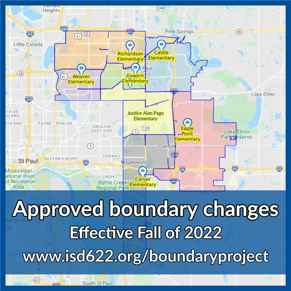 Approved boundary changes