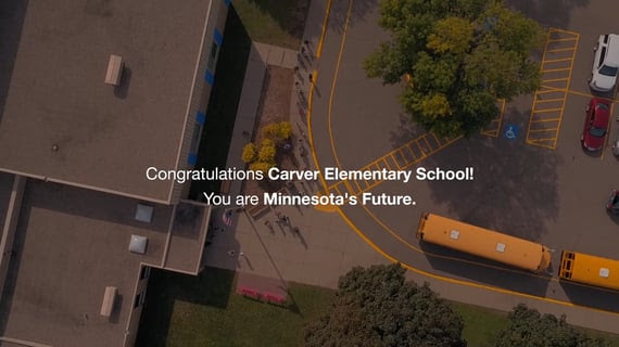 Carver Elementary receives Minnesota's Future Award - again!