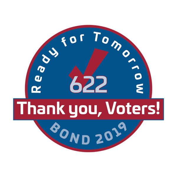 2019 Bond - Thank you logo