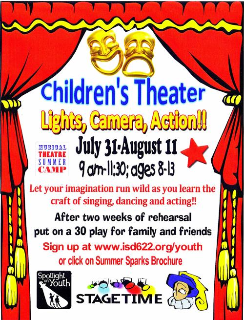 Lights Camera Action camp