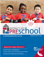 Preschool catalog cover