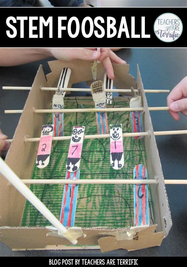 Example Foosball table