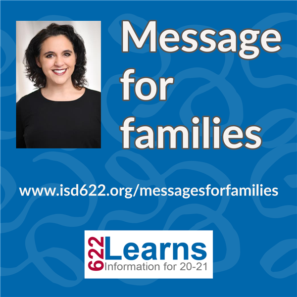 Message for families
