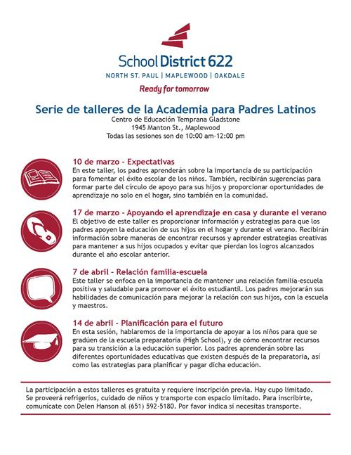 Latino Parent Academy - Spanish
