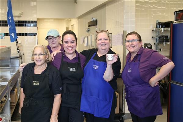 Eagle Point nutrition services staff